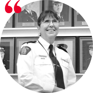Testimonial headshot of Superintendent Deanne Burleigh